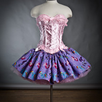 Size Small My Little Pony tutu fabric full skirt Ready to Ship