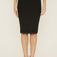 Contemporary Pencil Skirt | LOVE21 - 2000185583