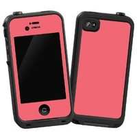 "Coral ""Protective Decal Skin"" for LifeProof iPhone 4/4s Case"