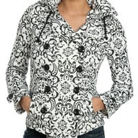 Baroque Double Breasted Fleece Jacket | Shop Jackets at Wet Seal