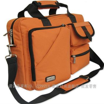 PEAPUNT Edifier 13 14 15 inch Nylon casual Computer laptop notebook bags case messenger Shoulder bag Durable Free shipping