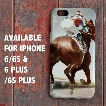 Horse Racing Handicapping for iPhone 6 6s 6+ 6s+ Case Cover