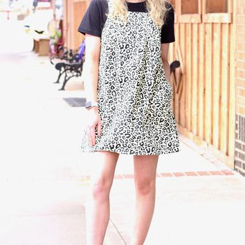 Leopard Dress All {Ivory/Black}