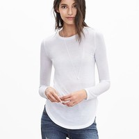 Banana Republic Womens Modal Crew Tee