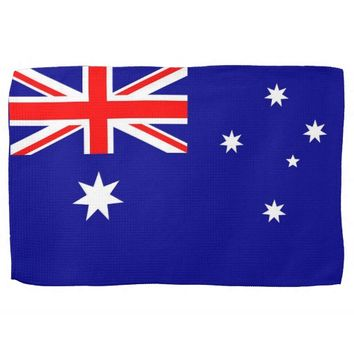 Kitchen towel with Flag of Australia