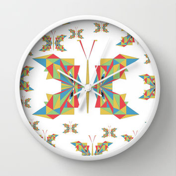 The Girly Girl (white) Wall Clock by Half Moon Industries