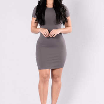 Love This Beat Dress - Dark Mocha