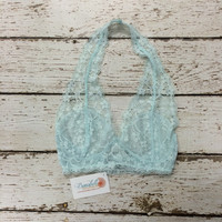Lace Bra / Bralette in Mint