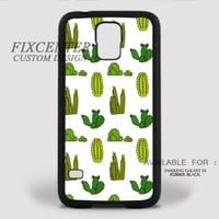 Cactus Rubber Case for iPhone and Samsung Galaxy by FixCenters