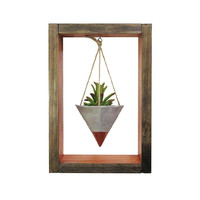 Mini Planter, Wall Planter, Hanging Planter, Air Planter, Succulent Planter, Concrete Planter, Modern Planter, Shadow Box, Gift for Her