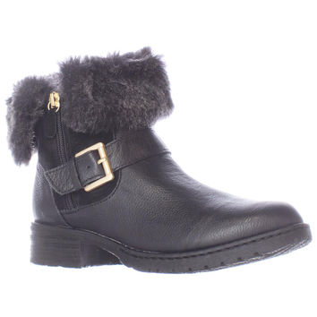 B.O.C. Born Concepts Salas Faux Fur Lined Winter Ankle Boots - Black