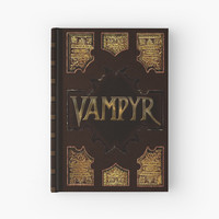 'Buffy's Vampyr Book' Hardcover Journal by ConnorMcKee