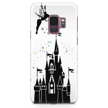 Disney Beauty And The Beast Stained Glass Rose Samsung Galaxy S9 Case | Casefantasy