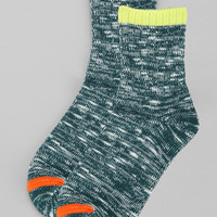 Marled Tipped Ankle Sock - Urban Outfitters