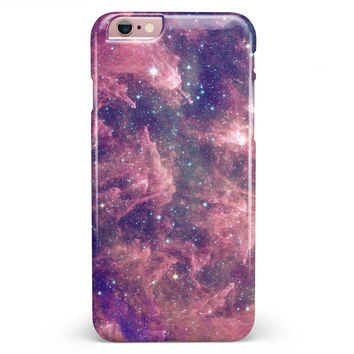 Vibrant Sparkly Pink Nebula iPhone 6/6s or 6/6s Plus INK-Fuzed Case
