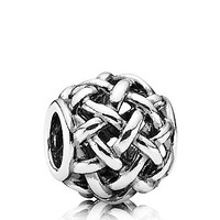 PANDORA Charm - Sterling Silver Forever Entwined | Bloomingdale's