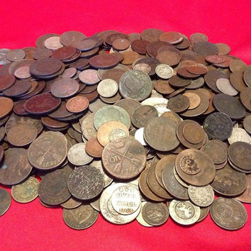 Old World Coins  1700s 1800s  1 COIN