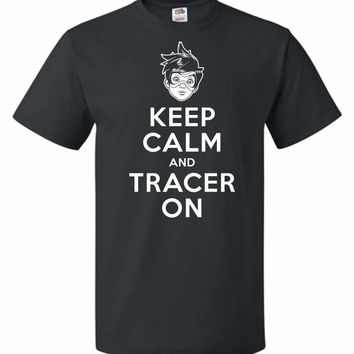 Keep Calm And Tracer On Unisex T-Shirt
