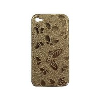 Golden Butterfly Protector Back Case For iPhone 4G Phones [3282] - US$4.00 - China Electronics Wholesale - FlyDolphin.com