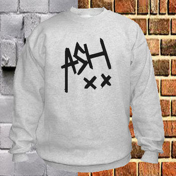 5SOS Ashton Irwin signature sweater Sweatshirt Crewneck Men or Women Unisex Size
