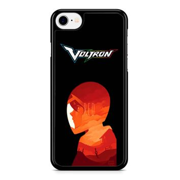 Voltron Legendary Defender Red iPhone 8 Case