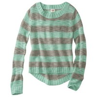 Mossimo Supply Co. Juniors Hi Low Striped Sweater - Assorted Colors