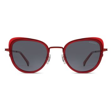 Komono - Billie Scarlet Sunglasses / Polarized Revo Lenses