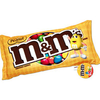 Peanut M&M's Squishy Candy Pillow | CandyWarehouse.com Online Candy Store