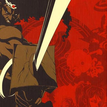 Afro Samurai 11x17 Movie Poster (2007)