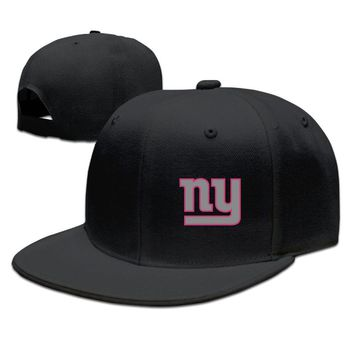 New York Giants Breast Cancer Awareness Team Travel Performance Breathable Unisex Adult Womens Hip-hop Cap Mens Baseball Hats