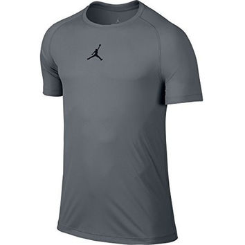 Nike Men's AJ All Season Fitted SS Top Black/Grey 642404-010