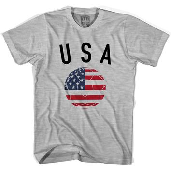 USA Soccer Ball T-shirt