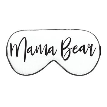 NATURAL SILK MAMA BEAR SLEEPING EYE MASK