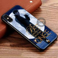 Once Upon a Time Captain Hook Believe Quote iPhone X 8 7 Plus 6s Cases Samsung Galaxy S8 Plus S7 edge NOTE 8 Covers #iphoneX #SamsungS8