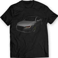 Audi S7 2013 T-Shirt Mens Gift Idea 100% Cotton
