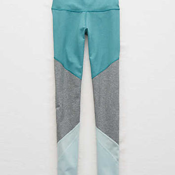 Aerie Move Colorblock Legging , Heritage Teal
