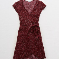 Aerie Breezy Dress, Deep Plum