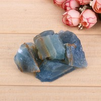 100g Natural Dark Blue Apatite Stones Reiki Rough Mineral for DIY bracelet and necklace Pendants Home Decor