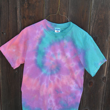 Pastel Tie Dye T-Shirt (Youth Size Extra Large)