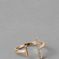 LEUCADIA OPEN MIDI RING IN SIZE 3