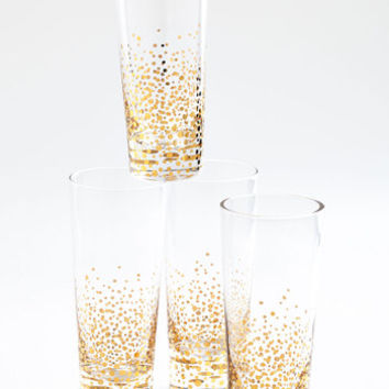 ModCloth Luxe I Knew You Were Bubble Glass Set