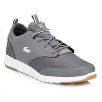Lacoste Mens Dark Grey L.IGHT 2.0 REI Trainers