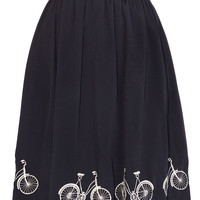 Ride With Me Bicycle Swing Skirt