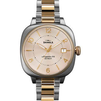 Gomelsky Two-Tone Bracelet Strap Watch, 36mm - Shinola