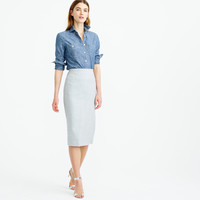 Director Pencil Skirt In Super 120S Wool : Women's Suit Skirts | J.Crew