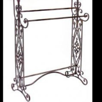 Wrought Iron Towel Racks - TowelRACKED.com