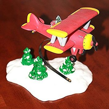 SPIRIT OF THE SNOW VILLAGE AIRPLANE #5440-2 Department 56 SNOW VILLAGE (6 Inches Tall)