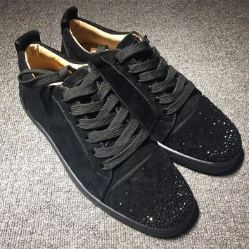 Cl Christian Louboutin Low Style #2017 Sneakers Fashion Shoes - Best Deal Online