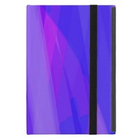 Abstract Ribbons of Blue and Violet Case For iPad Mini