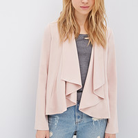 Draped Collar Blazer